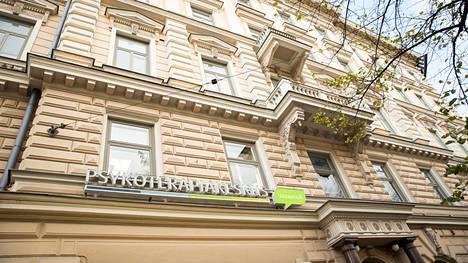 Psykoterapiakeskus Vastaamon toimipiste Mannerheimintiellä Helsingissä.