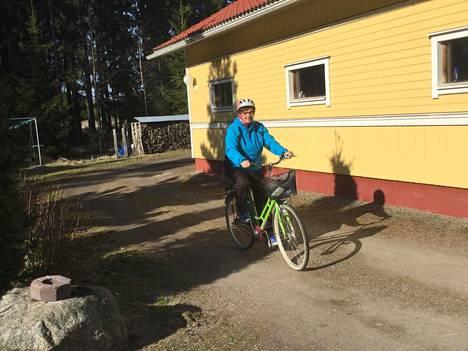Pyöräilyharrastus on osa Sirkka-Liisa Anttilan jokaista päivää.