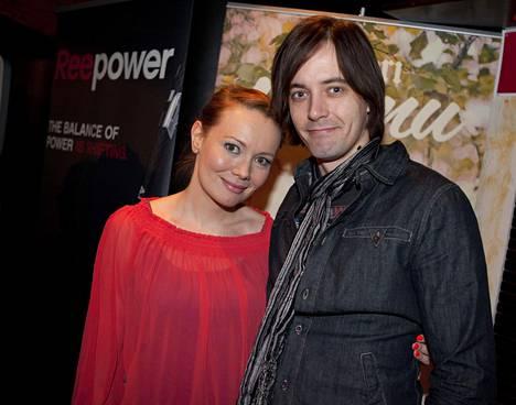 Marja Hintikka ja Ile Uusivuori vuonna 2012. Pari meni naimisiin kesällä 2011.