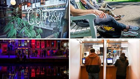 Hollannissa kannabiksen myynti on laitonta, paitsi lisenssillä toimivissa, tarkoin säännellyissä kannabiskahviloissa.