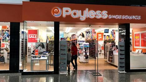 Kenkäkauppaketju Payless ilmoitti keväällä konkurssista ja sulkevansa satoja myymälöitä.