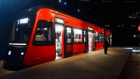 Tältä se näyttää – tuleeko Tampereen uudesta ratikasta kaupungin ikoni?