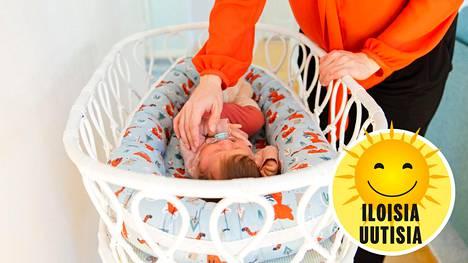 Vauvat tunnistavat luonnostaan, millainen laulu on rauhoittavaa.