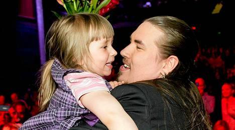 Antin 4,5-vuotias tytär on ollut tärkeä tuki.