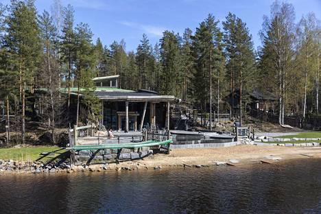 Järvisydämen rakentaminen on vienyt Markus Heiskaselta yöunet vain kahdesti, kun kylpylän avaaminen meni hilkulle.