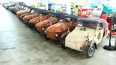 Museossa on todennäköisesti maailman suurin kokoelma mikroautoja.