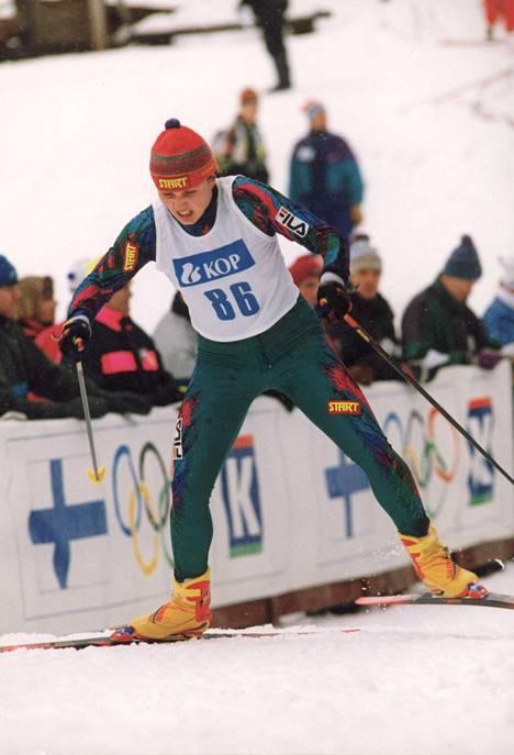 Kati Lehtonen (os. Pulkkinen) voitti kolme Suomen mestaruutta vuonna 1997.