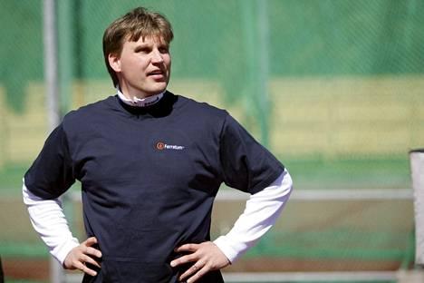 Aki Parviainen kuvattuna vuonna 2008.