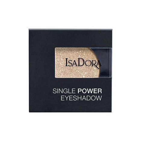IsaDora Single Power Eye Shadow -luomiväri sävyssä Glossy Diamonds, 13,90 €. Tavarataloista, saatavilla eri sävyissä.