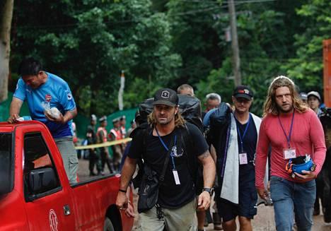 Mikko Paasi osallistui pelastusoperaatioon Tham Luang -luolastossa.