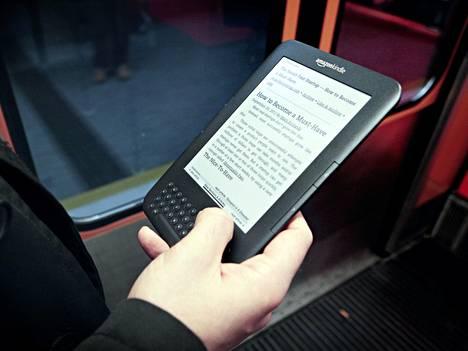 Aiemman sukupolven Kindle.