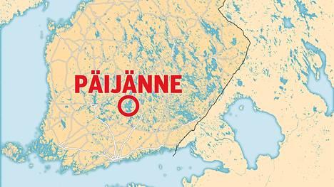 Kaksi kanoottia kaatui lauantaina Päijänteellä.