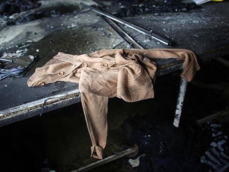 Vaatevalmistaja Tung Hai Groupin bangladeshilaisella tehtaalla roihusi toukokuun alussa. Palossa kuoli kahdeksan työntekijää.