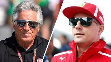 F1-legenda Mario Andretti kommentoi Ferrarin tilannetta – vahva mielipide Räikkösen lähdöstä