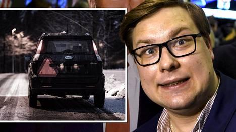 –Nykyisellään mopoautot aiheuttavat suhteettoman paljon vaaratilanteita, kokoomusnuorten puheenjohtaja Daniel Sazonov sanoo.