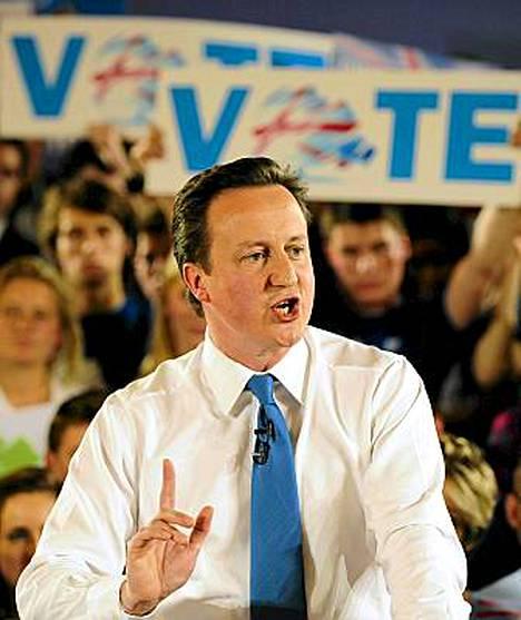 David Cameron on tavoitellut Obaman tyyliä. Torstain vaaleissa nähdään, puriko se britteihin.