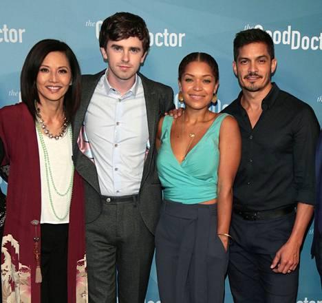 Näyttelijät Tamlyn Tomita, Freddie Highmore, Antonia Thomas ja Nicholas Gonzalez ovat tuttuja sarjan katsojille.