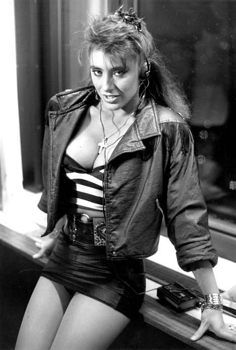 Sabrina Salerno oli aikansa seksisymboli.