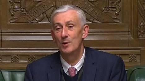 Lindsay Hoyle valittiin parlamentin alahuoneen puhemieheksi.