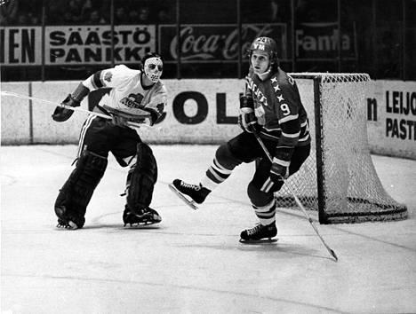 Juhani Tamminen nähtiin Helsingin IFK:n paidassa jo 1970-luvun alussa.