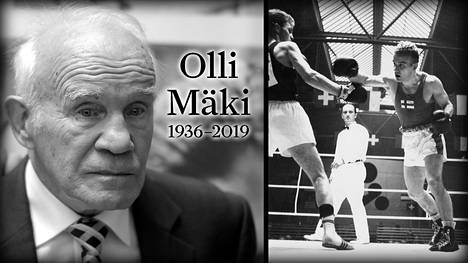 Nyrkkeilijä Olli Mäki on kuollut