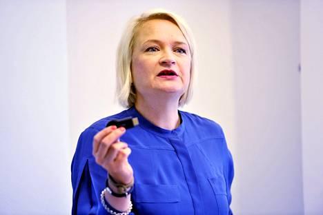 Googlen maajohtaja Anni Ronkainen.