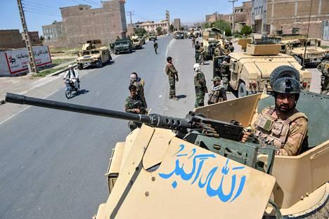 Afganistan uskoo, että hallituksen joukot saavat Heratin kaupungin haltuunsa.