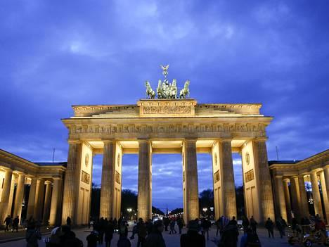 Brandenburgin tori Berliinissä