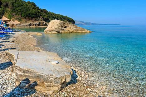 Albania on nouseva suosikki. Kuva Sarandasta.