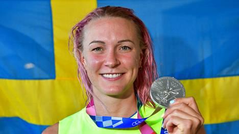 Sarah Sjöström on nyt nelinkertainen olympiamitalisti.