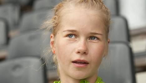 Alisa Vainio juoksi EM-pronssia.