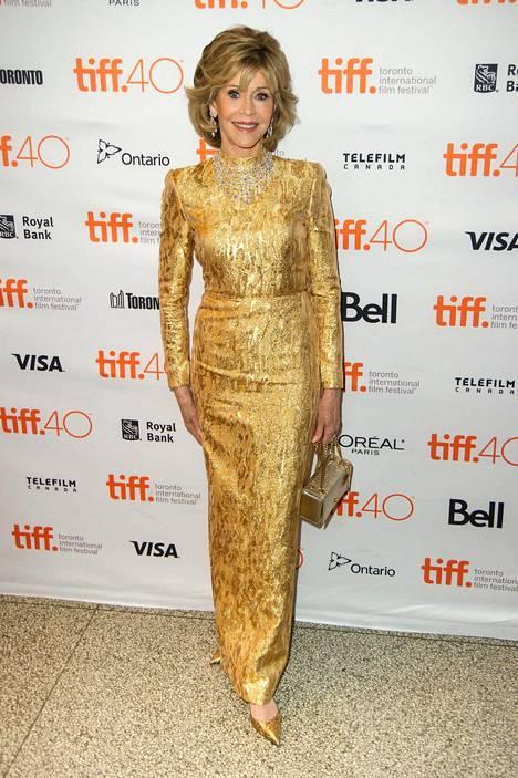 Jane Fonda kehottaa syömään nälän, ei kellon mukaan.