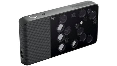 Lightin L16-kamerassa on nimensä mukaisesti 16 linssiä. Tekniikka on tulossa hieman kevennetyssä muodossa myös puhelimeen.