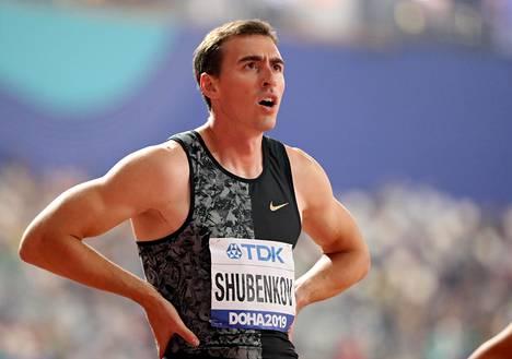 Sergei Shubenkov edusti neutraalina urheilijana Dohassa viime syksynä.