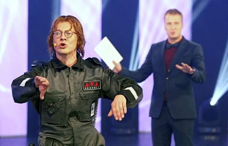 Viime kaudella Ville Tiihonen hauskuutti tv-yleisöä Ari Stevari -sketsihahmollaan.