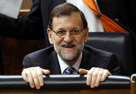 Pääministeri Mariano Rajoy ennustaa myönteisen kehityksen jatkuvan.