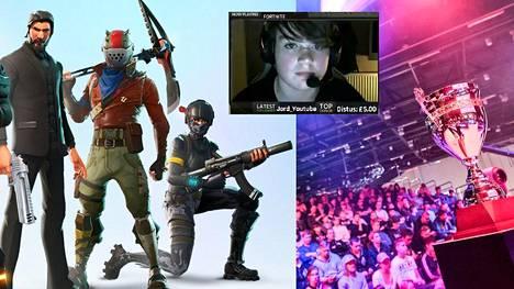 "13-vuotias Kyle ""Mongraal"" Jackson on yksi Team Secretin Fortnite-pelaajista."