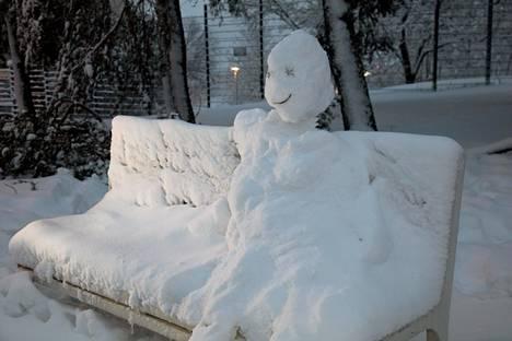 Turussa lumi inspiroi luovuutta.