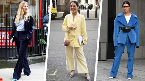 Vakosamettinen puku on nyt yksi naisten muodin suurimmista ilmiöistä.
