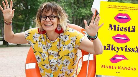 Marja Kangas kuvaa esikoisromaanissaan, miten hullunkuriseksi erosta selviäminen voi mennä.