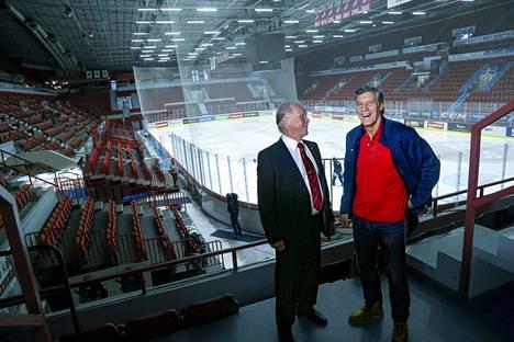 Heikki Riihiranta ja Veli-Pekka Ketola pelasivat Winnipegissä yhdessä kolme vuotta.