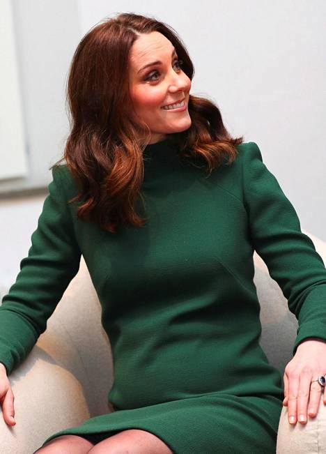 Herttuatar Catherine Tukholmassa tammikuussa 2018.