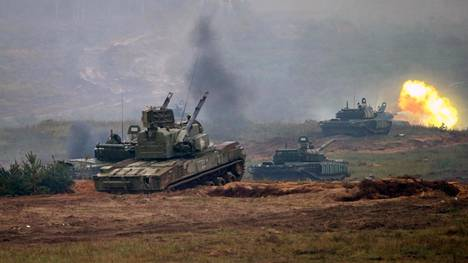 Venäjä valmistautuu jättimäiseen sotaharjoitukseen