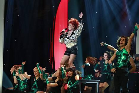 2014: Vicky vauhdissa Tähdet, tähdet -kisassa.