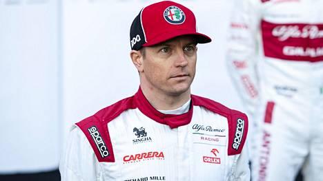 Kimi Räikkönen ajaa toisen kautensa Alfa Romeolla.