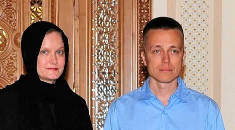 Leila Kaleva ja Atte Kaleva.
