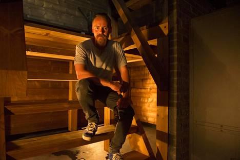 Jasper Pääkkönen perusti 2016 Löyly-saunan.