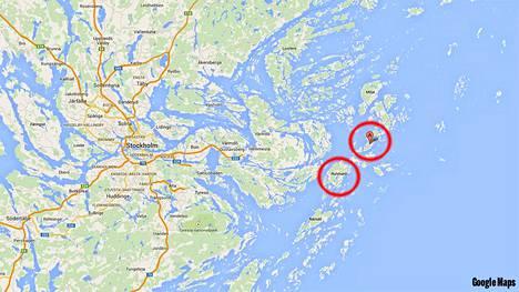 Svenska Dagbladetin toimittaja havaitsi puolustusvoimien veneitä Harön ja Runmarön alueilla.