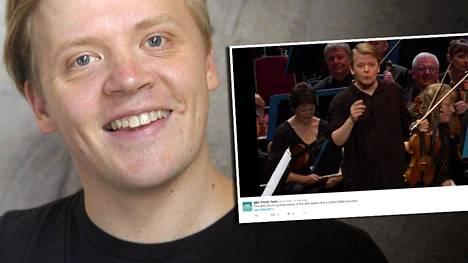 Pekka Kuusisto laulatti brittiyleisöä karjalaisella kansanlaululla encoressaan yhdellä maailman kuuluisimmista klassisen musiikin festivaaleista.
