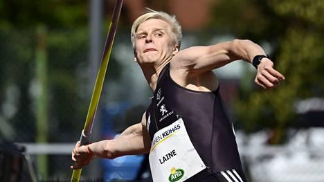 Topias Laine loisti alle 23-vuotiaiden EM-kisoissa Tallinnassa.